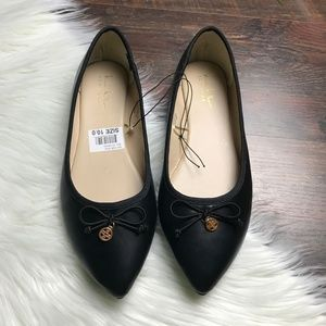 NWT Nicole Miller New York Pointed Flats
